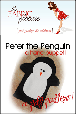 peter the penguin pattern sample