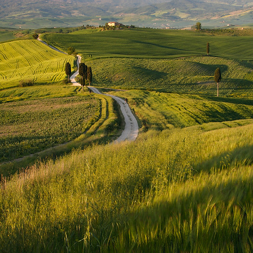 Tuscany - Orcia valley (Val d´orcia)