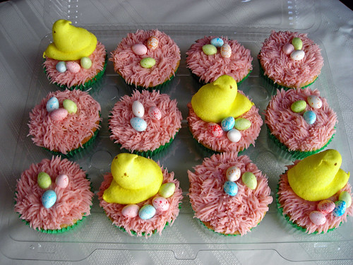 Easter Cupcakes by CountrySLChic.