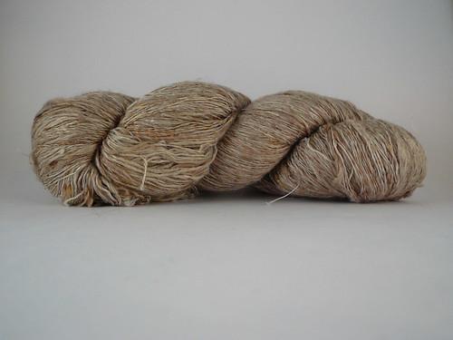 Handspun silk