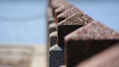 Posts (merobson) Tags: water stone chain barrier posts rubyphotographer