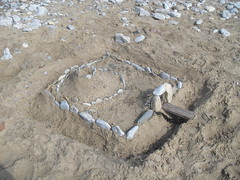 Our motte and bailey castle