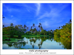 ::save the world:::: (memet metz) Tags: bali reflection water photography wide bluesky indah sejuk metz landsacpe dll savetheworld canggu keepclean loloan pentaxk10d vosplusbellesphotos