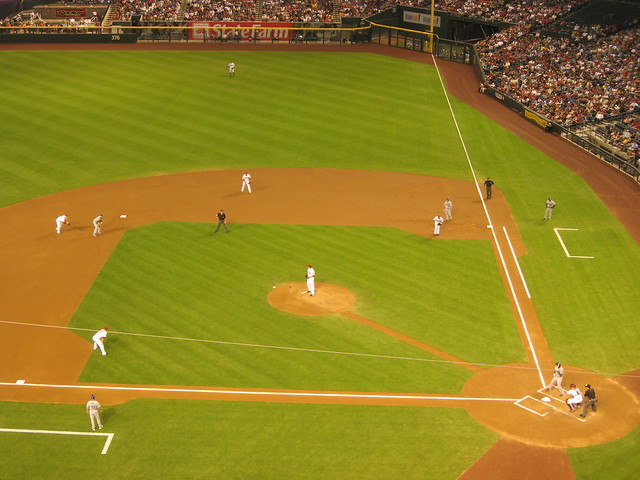 Arizona Diamondbacks 9, Los Angeles Dodgers 4, Chase Field, Phoenix, Arizona (23)