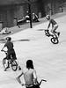 (...uno che passava... (senza ombrello)) Tags: street urban bw amsterdam bike bn bici bncittà