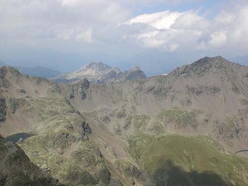 Blick gegen Norden auf das Tagewaldhorn