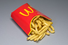 McDonalds Large Fries in Germany (Rick Eisenmenger) Tags: mcdonalds fries largefries