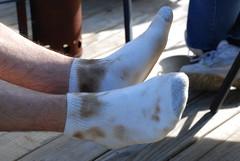 Dirty socks!