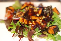 Sweet Potato Salad with Pumpkin Seeds - by bouche