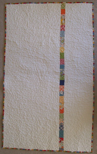 back of Recess quilt