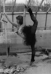 Rose (Emily Savill) Tags: ballet film rose ballerina contortionist flexible