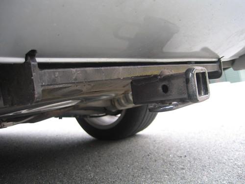 DIY B6 A4S4 Trailer hitch installation