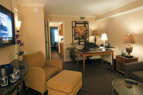 Two Room King Suite at the Best Western Eden Resort and Suites