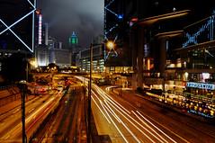 Lippo Center at night (samthe8th) Tags: reflections hongk