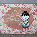 MayFlowers: Orange Asian Doll Card