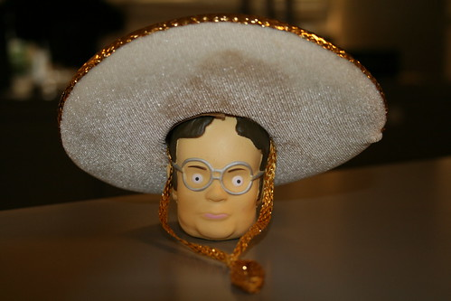 Dwight Shrute from 'The Office' sombrero