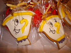 SWEET SUGAR - By Michelle Lanza - BELA E A FERA (SWEET SUGAR By Michelle Lanza) Tags: cookies sweet sugar lembrancinhas