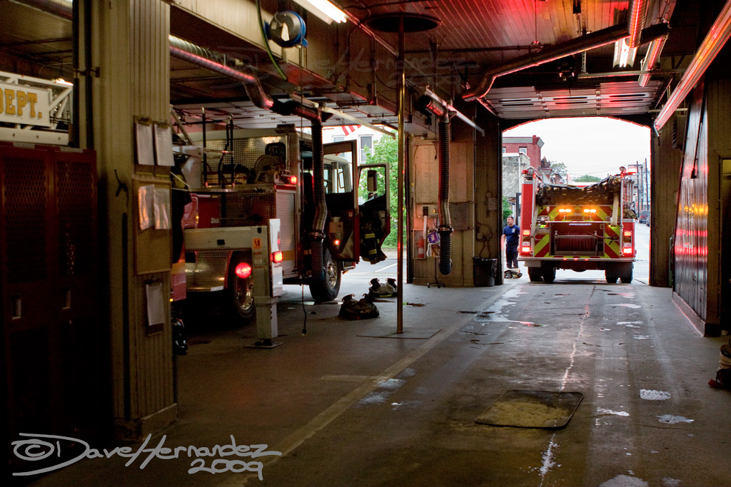 A Day in the Life: The 8th Battalion, Philadelphia Fire