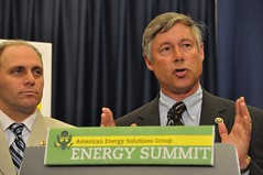 Fred Upton at Energy Summit Stakeout