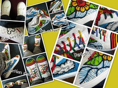 Another painted shoe