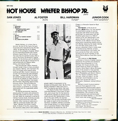 Walter Bishop Jr. > Hot House [back liner]