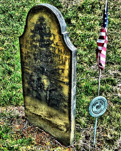1812 Vet Gravesite