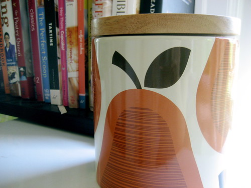 orla kiely cookie jar
