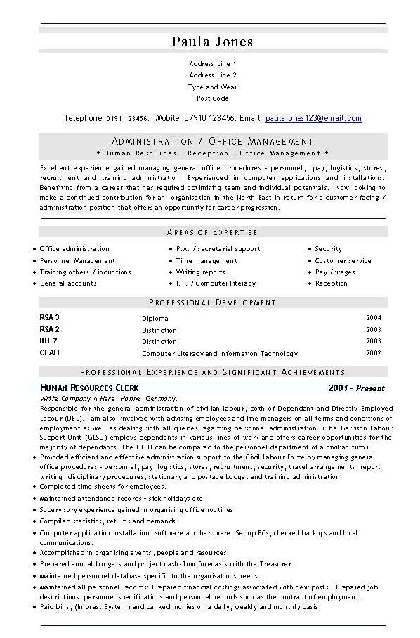 vitae format. CV FORMAT - Page 5