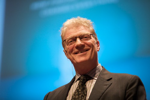 Sir Ken Robinson @ The Creative Company by Sebastiaan ter Burg, on Flickr