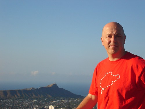 At Tantalus, overlooking Diamond Head