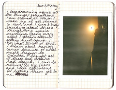 Black Dream (Miss Day ) Tags: black moleskine polaroid dreams scared blacksun nightmares moleskines psychoanalysis polaroid340 babymoleskine
