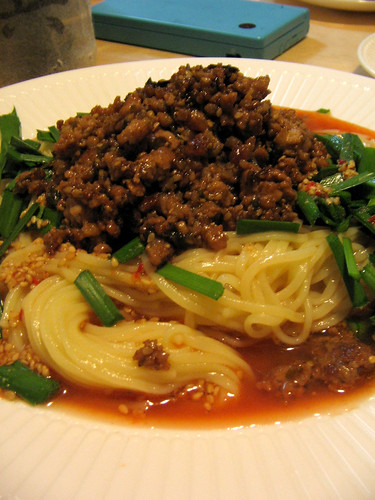 Spicy Meaty TanTan Noodles