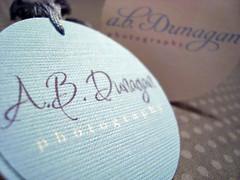 a.b.dunagan photography hang tags & labels