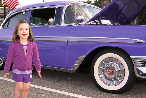 Purple Bel-Air