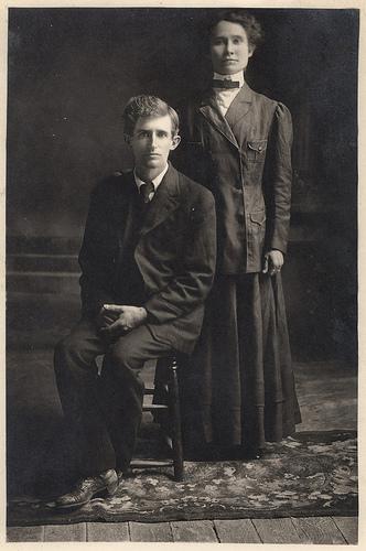 Mike Rever y señora
