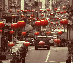 Red is the ultimate cure for sadness. (ShanLuPhoto) Tags: sanfrancisco california travel red usa america chinatown bayarea       loolooimage