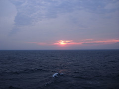 6-27-09 Sea Day  03 (OhDuranDuran) Tags: pictures cruise blue sunset vacation water glass sunrise island coast sony hamilton sunny tugboat horseshoebay bermuda shipwrecks 2009 pinksand torquoise kingswarf norweganspirit