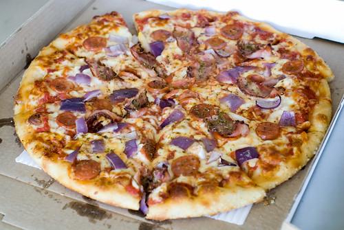 Pizzaiola Sicilian Pizza