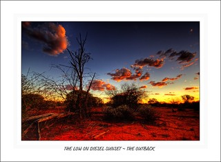 THE LOW ON DIESEL SUNSET ~ THE OUTBACK