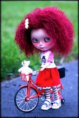 I gots bicycle!