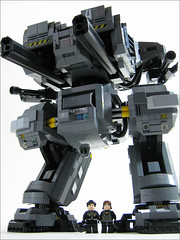 Foundation 3 (mondayn00dle) Tags: dawn lego military walker forge mecha mech brickworld
