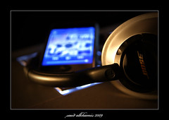 my iphone with bose (ash3ary) Tags: saud alkhamis ash3ary