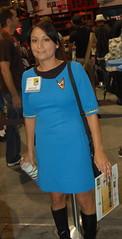 Comic Con 09: Science Chic (earthdog) Tags: startrek 15fav d50 costume nikon sandiego cosplay nikond50 comiccon blueshirt 2009 unknownperson sttos startrekcostume unknownlens sdcci startrektheoriginalseries comiccon09 upcoming:event=958403 upcoming:event=1494437