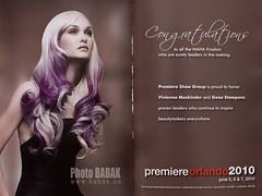 Naha  Awards (BABAK photography) Tags: color beauty fashion hair photography orlando photographer babak awards naha premier 2010 avantgarde stylist wwwbabakca hairphotography babakca babaked nickfrench
