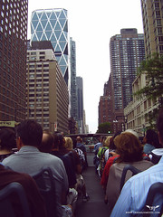 Tour Bus (Orignaux Moose) Tags: travel newyork bus tour adventure columbuscircle 8thave hesrsttower