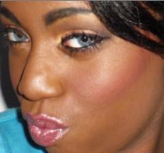 everyday glam2 (SweetTooth Makeup) Tags: shadow black eye beautiful glamour eyes pretty african gorgeous creative makeup lips american glam mascara lipstick blush cosmetics eyeshadow glamor bold sweettoothmakeup