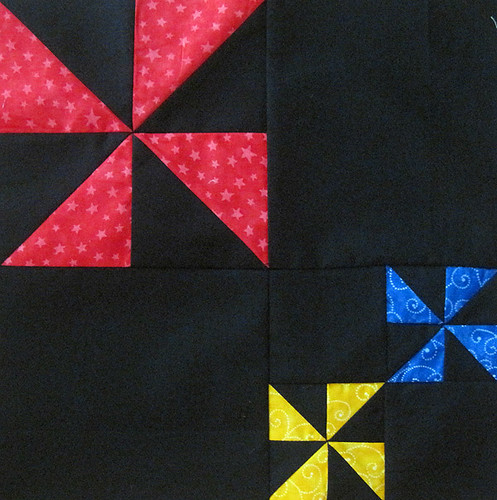 Pinwheel Party Block 12