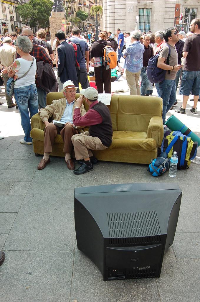 TV na rua