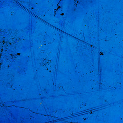Traces (sebistaen) Tags: abstract blue color paint wall explore flickr sebistaen sébastienlemercier sebistaennet