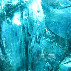 Frozen in Time (Dominique Guillochon) Tags: california blue light usa abstract art glass colors reflections shadows unitedstates sandiego couleurs blues colori ombres frozenintime